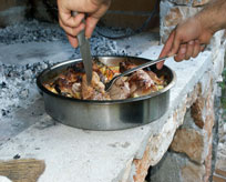 Camp Sibuljina Küche