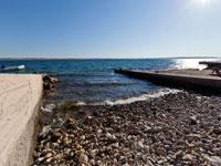 Beach, camp Sibuljina, Croatia