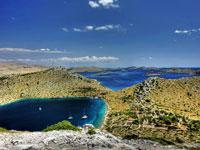 Kornati island archipelago, Croatia