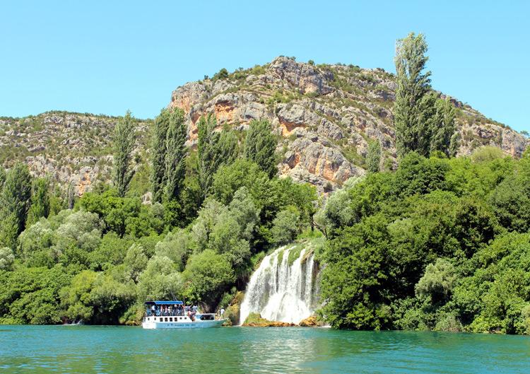 Krka river Waterfalls, Croatia