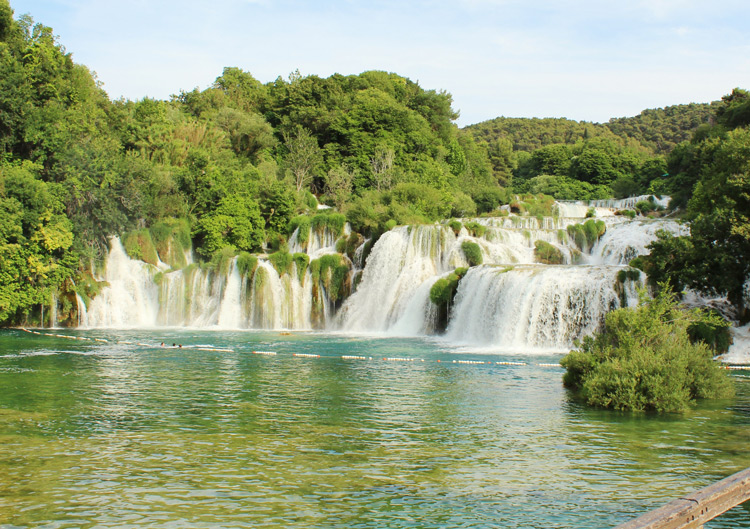 Krka river Waterfalls, Croatia