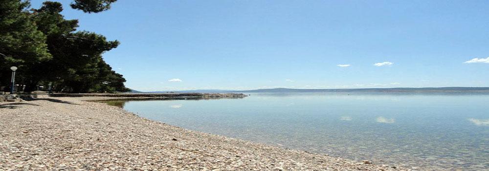 Spiaggia, campeggio Sibuljina, Croazia
