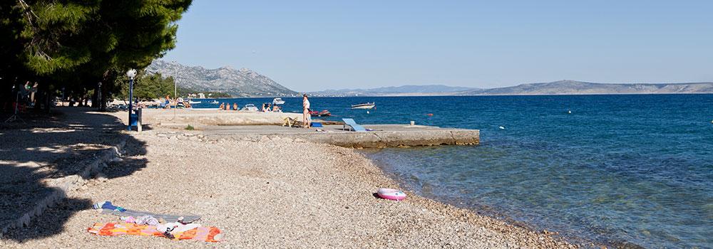 Plaža, kamp Šibuljina, Hrvatska