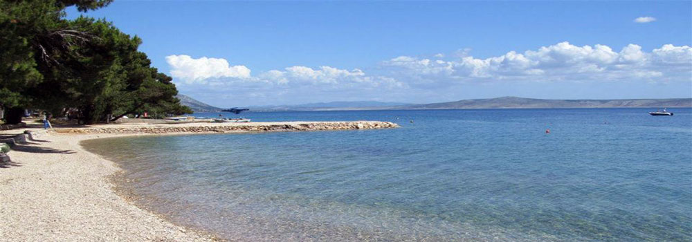 Strand, camp Sibuljina, Kroatien