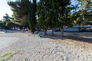 Campeggio Šibuljina Spiagga